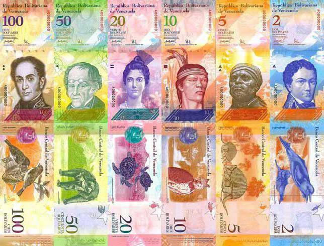 Какая валюта используется в венесуэле. Валюта Венесуэлы. История появления и текущая ситуация