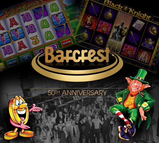 Barcrest square - SG Gaming