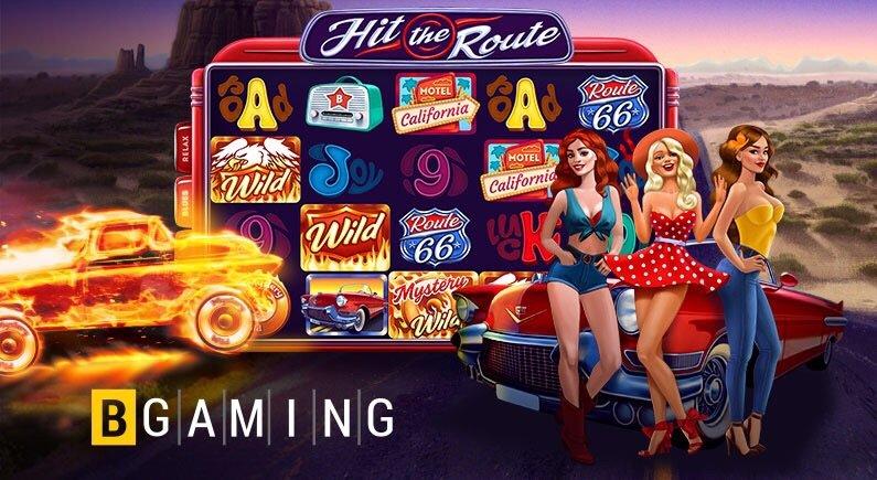 "Hit The Route"" - новый захватывающий слот от BGaming!"