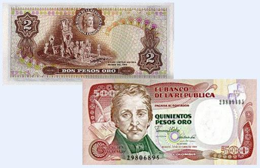 Колумбийское песо — история и курс