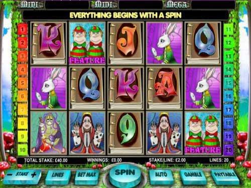 Alice in Wonderland Slot by Ash Gaming - Slots - GamblersPick